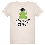 Class of 2014 Frog Organic Kids T-Shirt