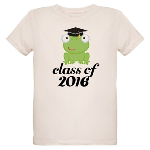 Class of 2016 Frog Organic Kids T-Shirt