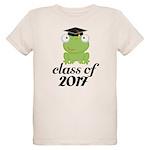 Class of 2017 Frog Organic Kids T-Shirt
