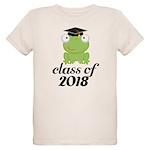 Class of 2018 Frog Organic Kids T-Shirt
