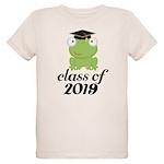 Class of 2019 Frog Organic Kids T-Shirt