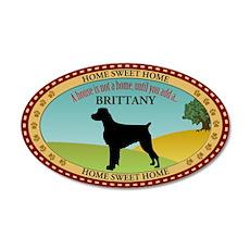 Brittany 38.5 x 24.5 Oval Wall Peel