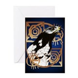 Yardsign A Bird Of The Serengeti.png Greeting Card