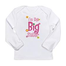 BIG Sister2.png Long Sleeve Infant T-Shirt