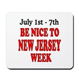 NJ Week Mousepad