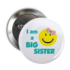 "I am a big sister 2.25"" Button (10 pack)"