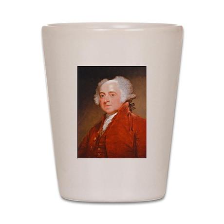 Founding Fathers: John Adams Shot Glass