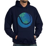 world tennis ball globe Hoodie