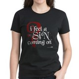 I feel a sin coming on Tee