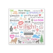 Twilight Memories Square Sticker 3