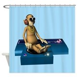Funky Monkey Shower Curtain