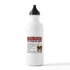 Necromancer Pick Up Lines Water Bottle