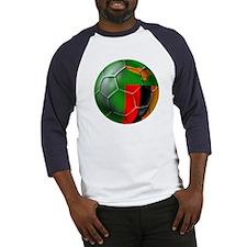 Zambia Football Baseball Jersey