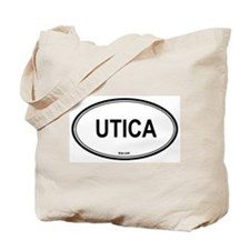 Utica (New York) Tote Bag