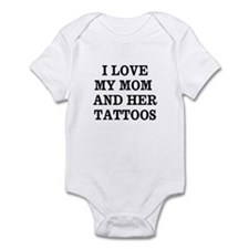 Funny Tattoos Infant Bodysuit