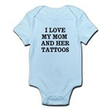Funny Tattoo Infant Bodysuit