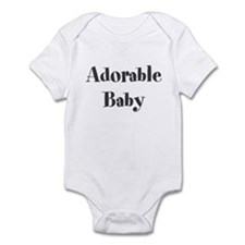 Cute Adorable Infant Bodysuit