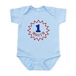 Babys One Month Birthday Infant Bodysuit