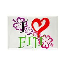 I heart Fiji Rectangle Magnet