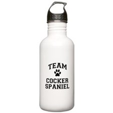 Team Cocker Spaniel Water Bottle