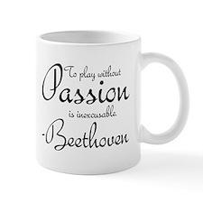 Beethoven Music Quote Piano Mug