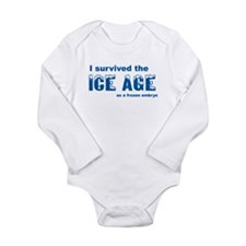 Cool Infertility Long Sleeve Infant Bodysuit