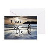 Tour de Life Greeting Card