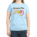 Aussie Poo Dog Mom Women's Light T-Shirt