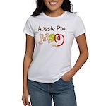 Aussie Poo Dog Mom Women's T-Shirt