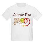 Aussie Poo Dog Mom Kids Light T-Shirt