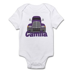Trucker Camila Infant Bodysuit