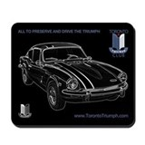Toronto Triumph Club GT6 Mousepad