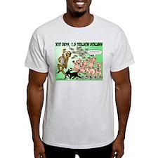 Obama feeding the pigs T-Shirt