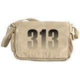 313 Detroit Messenger Bag