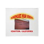 Domingues High School Throw Blanket