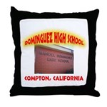 Domingues High School Throw Pillow
