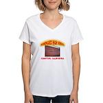 Domingues High School Women's V-Neck T-Shirt