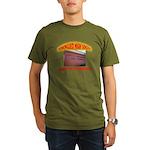 Domingues High School Organic Men's T-Shirt (dark)