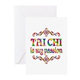 Tai Chi Passion Greeting Cards (Pk of 10)