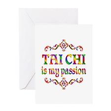 Tai Chi Passion Greeting Card