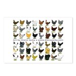 48 Hens Promo Postcards (Package of 8)
