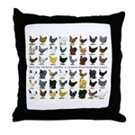 48 Hens Promo Throw Pillow