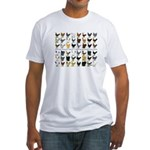 48 Hens Promo Fitted T-Shirt