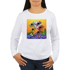 Dragonfly to the Moon, T-Shirt