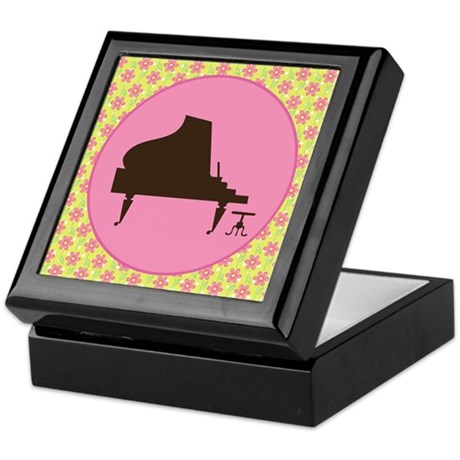 Piano Music Award Gift Keepsake Box