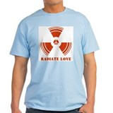 Radiate Love Ash Grey T-Shirt