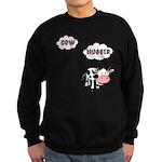 Cow Hugger Sweatshirt (dark)