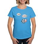Cow Hugger Women's Dark T-Shirt