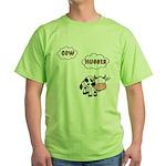 Cow Hugger Green T-Shirt