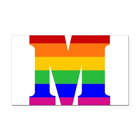 The gallery for --> The Letter M In Rainbow